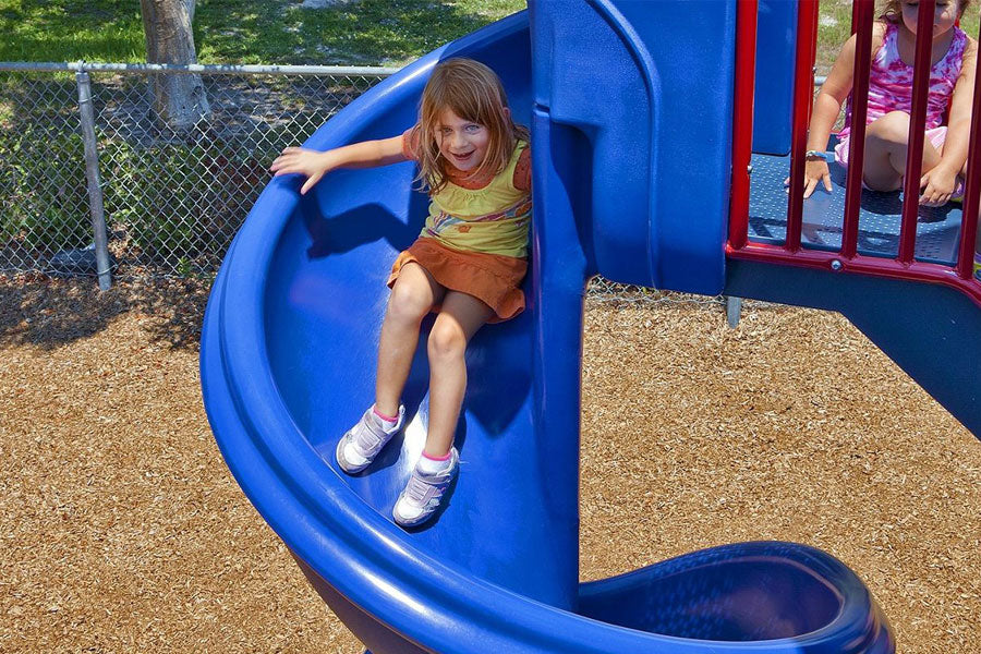Spiral Slide - Playground Experts
