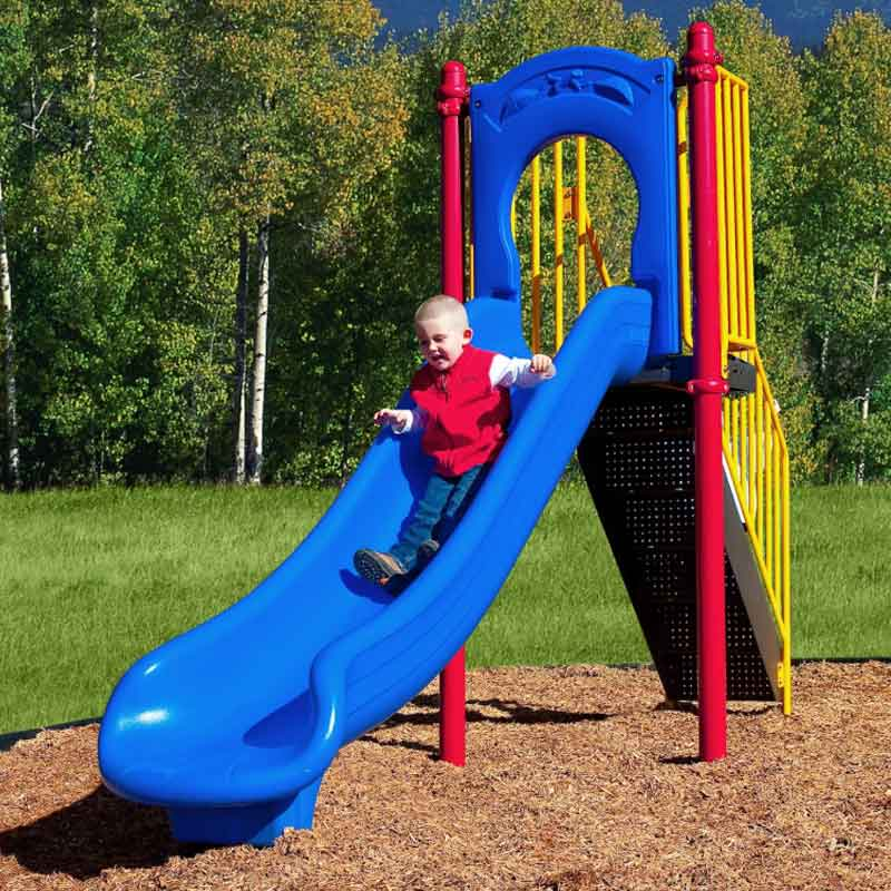 Freestanding Kids Playground Equipment - Slide