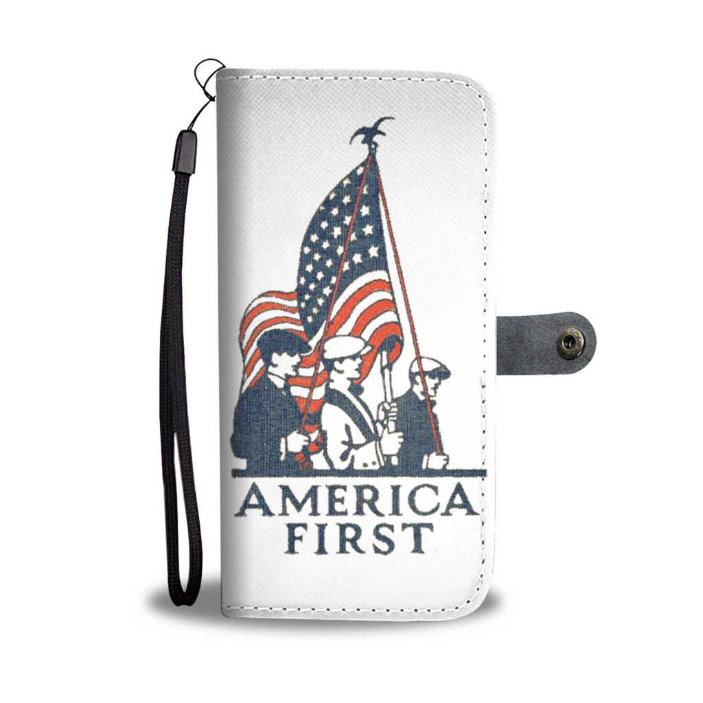 Unique USA Wallet Case