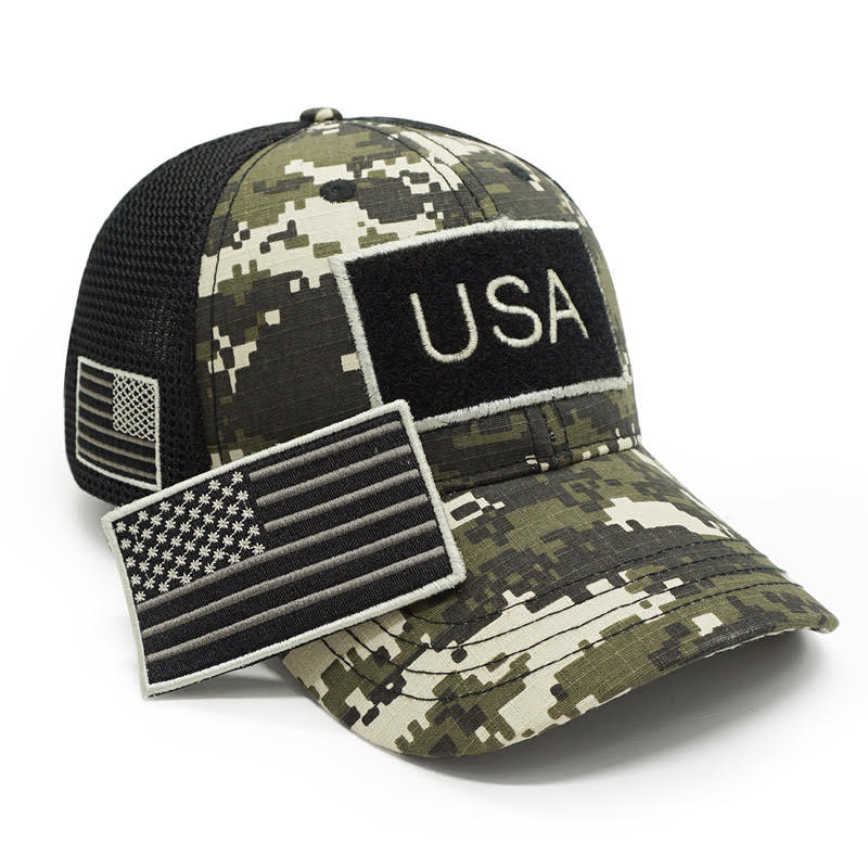 New USA Flag Caps