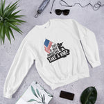 This Is How Americans Take A Knee Sweatshirt - Made In The USA