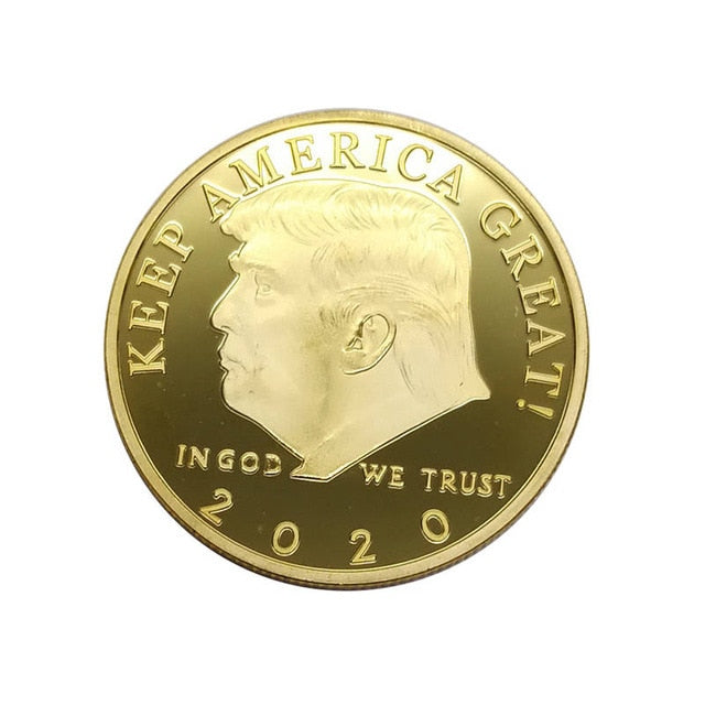 Trump 2020 Keep America Great Coin
