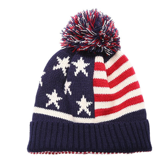 New Winter USA Beanie