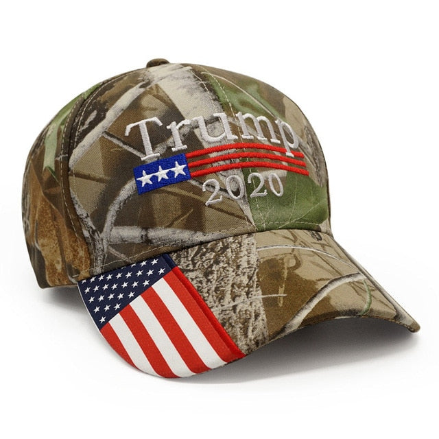 New Trump 2020 Camo USA Hat