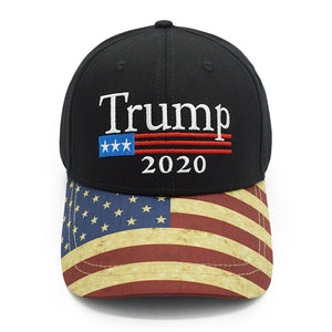 Limited Edition Trump 2020 USA Flag  Cap