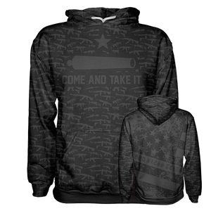 Come And Take It Black Hoodie