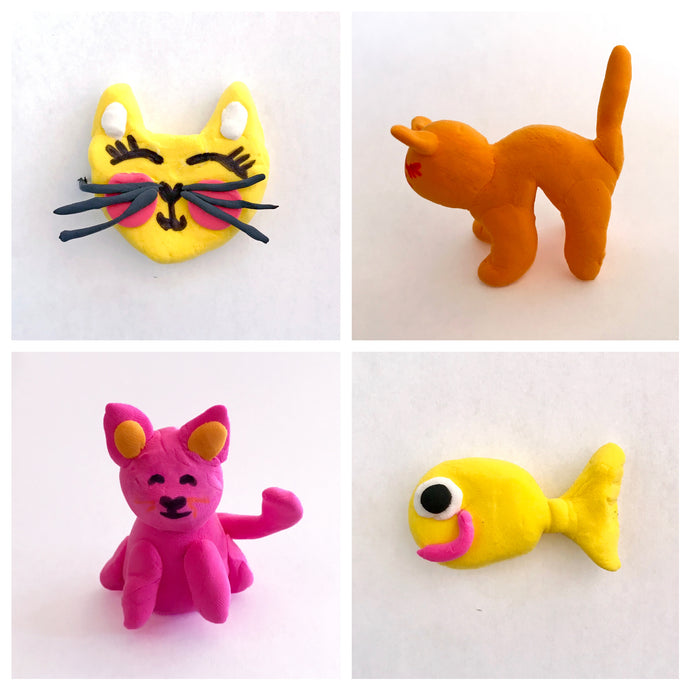 Clay Cool Cats