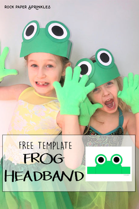 Frog Headband Craft