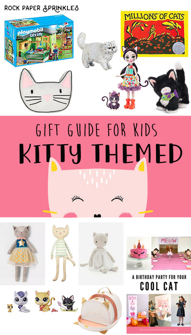 Kids Gift Guide for Cat Lovers