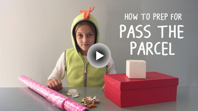 "How To Wrap Boxes for ""Pass the Parcel"" Game"
