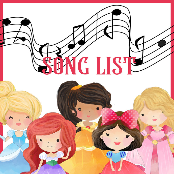 Once Upon a Time Song List