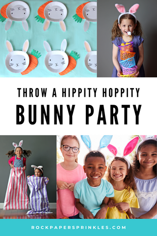 Bunny Rabbit easter party for kids
