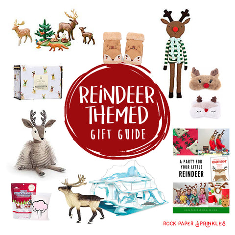 Reindeer Themed Gift Guide for Kids