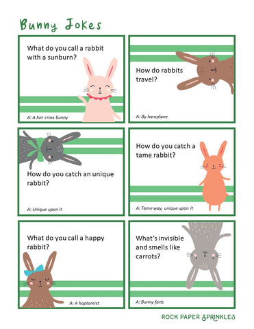 Bunny jokes Easter jokes for kids