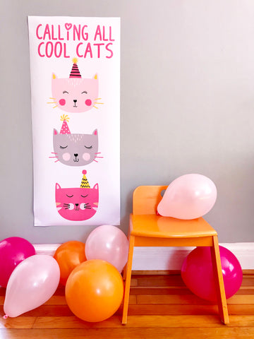 Easy balloon decoration for max fun and color