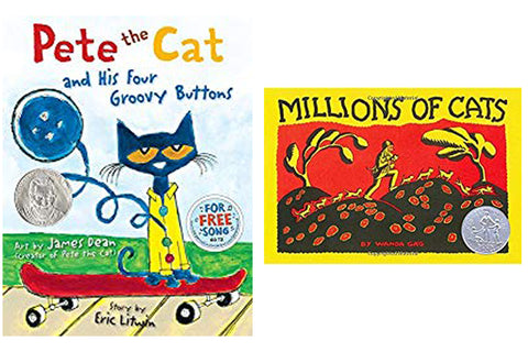 Cat themed picture books