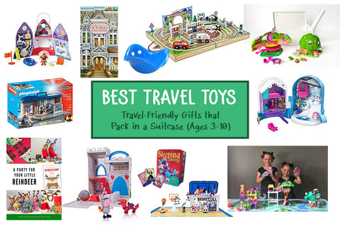 Best travel toys gift guide for kids ages 3-10