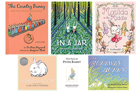 Picture books with bunny rabbits