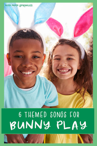 Easter bunny rabbit themed kid songs