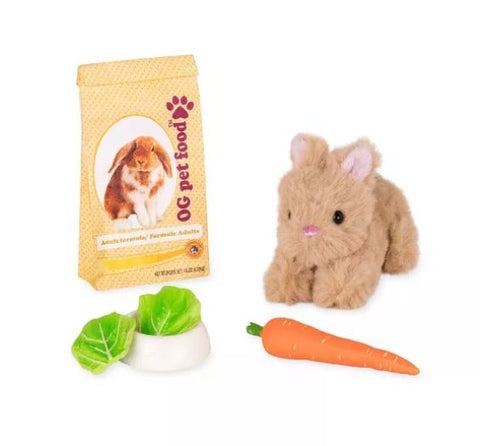 Pet bunny for doll easter present
