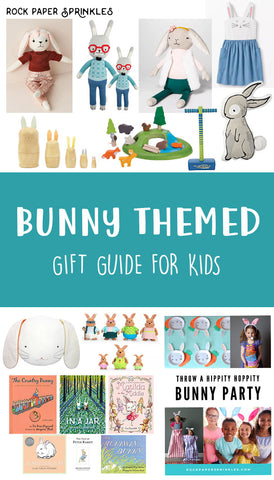 Gift guide for easter and bunny lovers