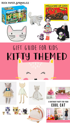 kids kitty cat themed gift guide