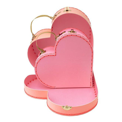 Meri Meri heart shaped mini suitcase toy
