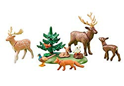 Playmobil reindeer forest animals