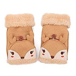reindeer mittens for kids