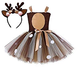 tutu reindeer costume dress up