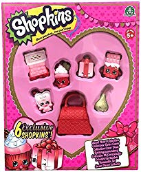 Shopkins Valentine heart collection toys