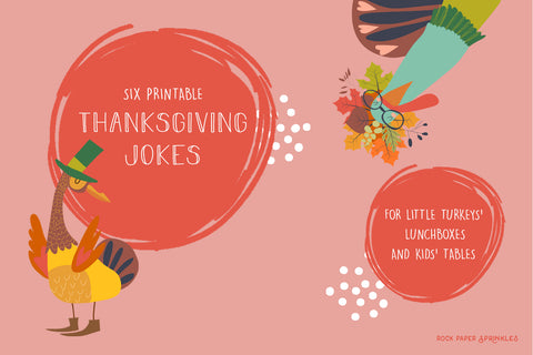 Funny turkeys graphics on pink background