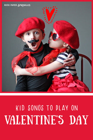 Valentine song list for kids