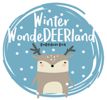 Load image into Gallery viewer, Boredom Box: Winter WonDEERland