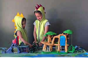 Lion Guard Hyena's Hideout playset and Lion Guard Battle for the Pride Lands play set