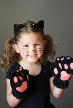 Load image into Gallery viewer, Cat paws costume on child