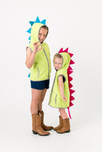 Load image into Gallery viewer, Dinosaur vest costumes on children