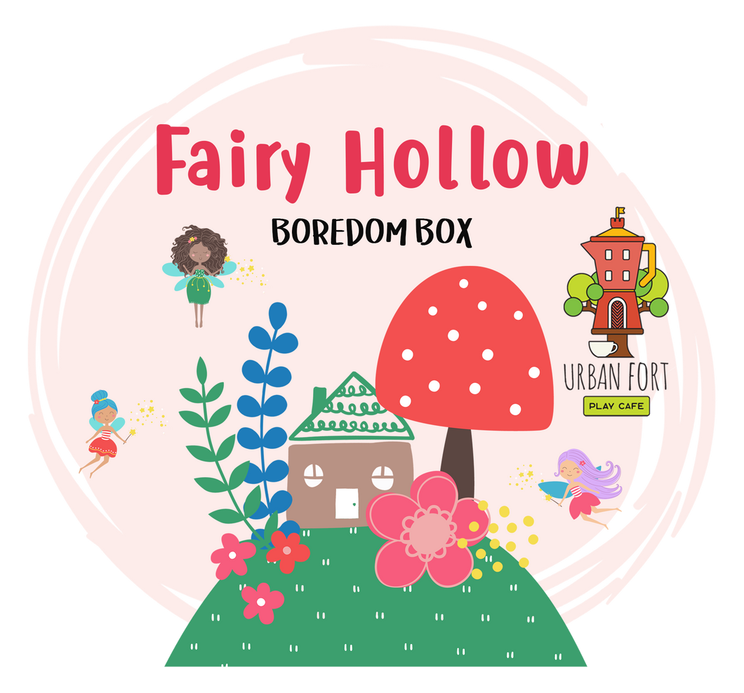Urban Fort + Rock Paper Sprinkles | Boredom Box: Fairy Hollow