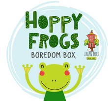 Load image into Gallery viewer, Urban Fort + Rock Paper Sprinkles | Boredom Box: Hoppy Frogs