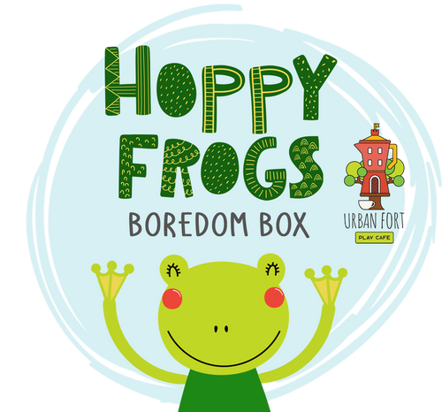 Urban Fort + Rock Paper Sprinkles | Boredom Box: Hoppy Frogs