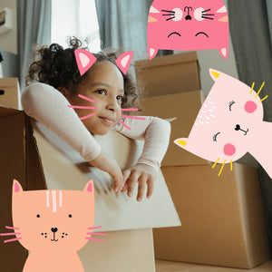 Urban Fort + Rock Paper Sprinkles | Boredom Box: Cool Cats