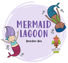 Load image into Gallery viewer, Urban Fort + Rock Paper Sprinkles | Boredom Box: Mermaid Lagoon