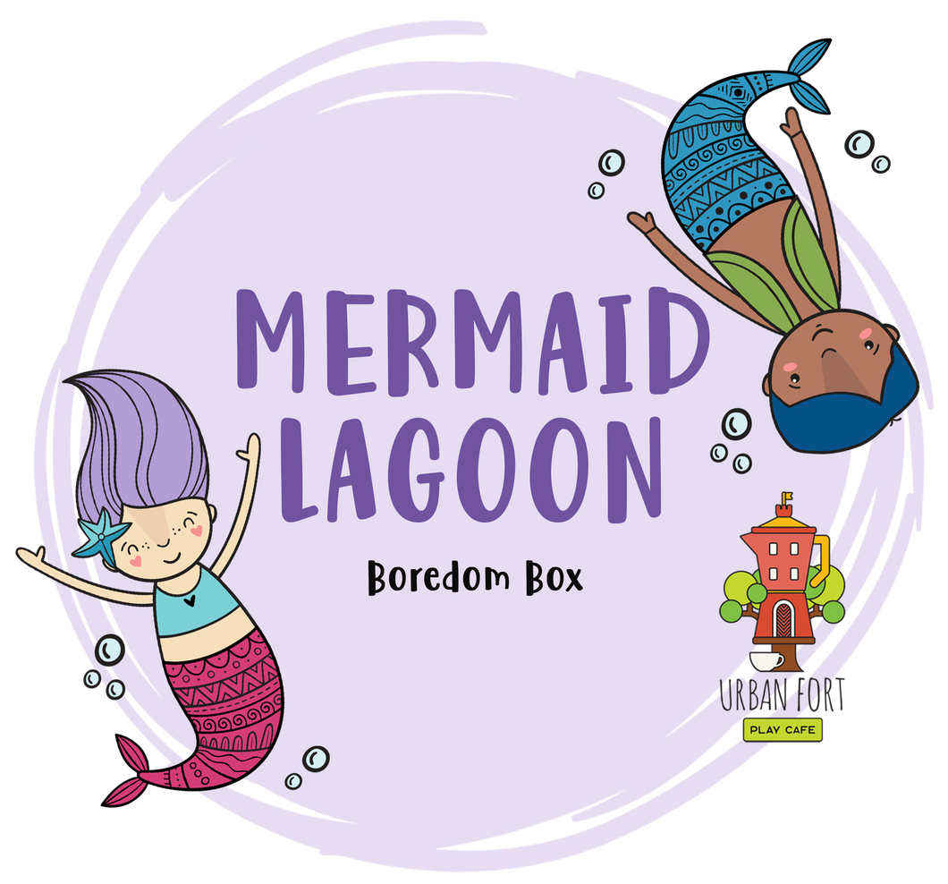 Urban Fort + Rock Paper Sprinkles | Boredom Box: Mermaid Lagoon