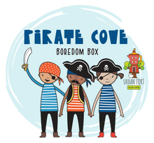 Load image into Gallery viewer, Urban Fort + Rock Paper Sprinkles | Boredom Box: Pirate Cove