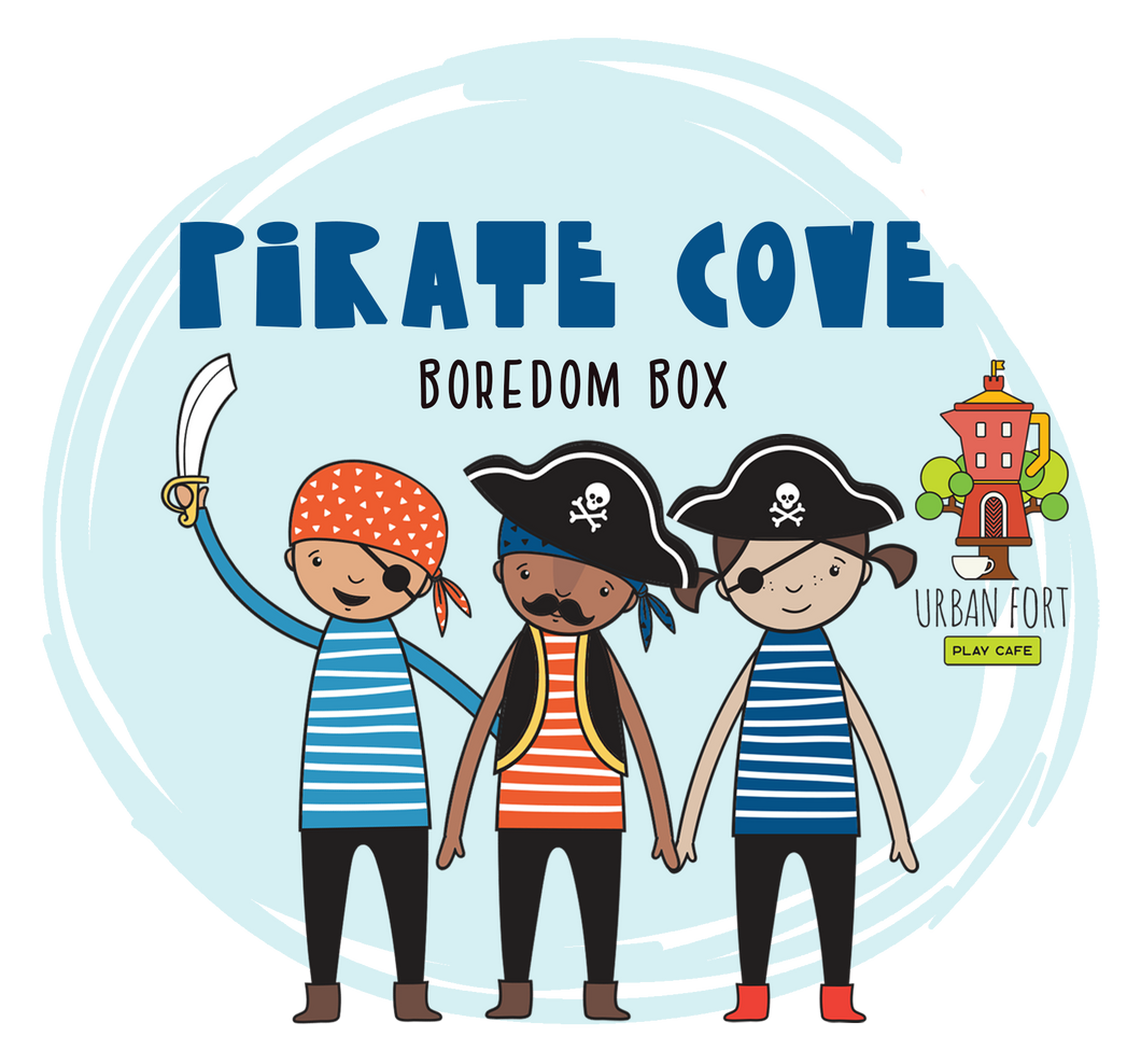 Urban Fort + Rock Paper Sprinkles | Boredom Box: Pirate Cove