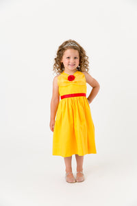 Belle Beauty and the Beast yellow costume