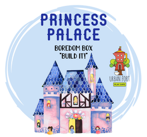 "Urban Fort + Rock Paper Sprinkles | Boredom Box ""Build It!"": Princess Palace"