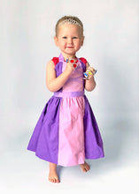 Load image into Gallery viewer, Rapunzel princess apron costume