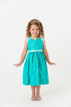Load image into Gallery viewer, Turquoise princess apron costume