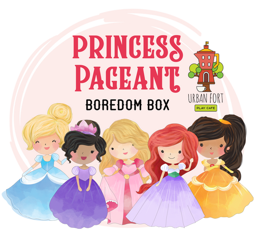 Urban Fort + Rock Paper Sprinkles | Boredom Box: Princess Pageant